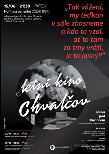 Hoří, má panenko - Letní kino Chvalčov
